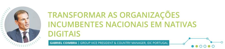 Transformar as organizações incumbentes nacionais em ativas digitais