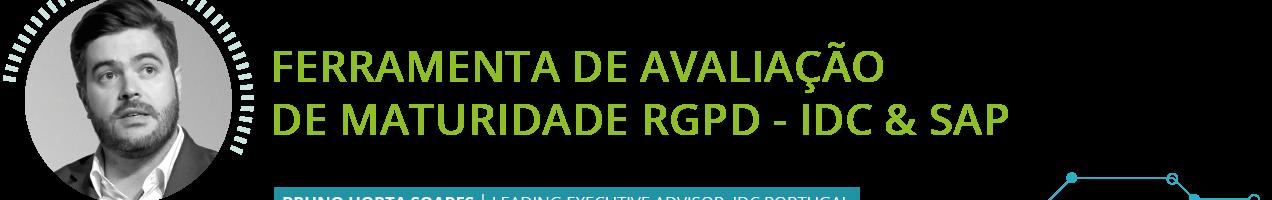 """""""Ferramenta de avaliação de maturidade RGPD"""" IDC & SAP"""